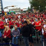RT @Troy_Gillard: Fantastic crowd at the #reddeerisready rally. Expected nothing less! @RedDeer2019 http://t.co/4CSpziF5MG