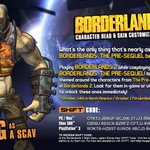 RT @GearboxSoftware: SHiFT codes for the last of six Pre-Sequel themed heads & skins in @Borderlands 2 hit today! http://t.co/zfVefYFT4q