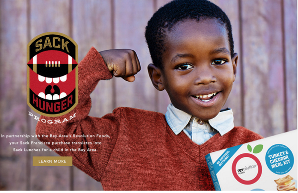 proud to partner w @AldonSmith  @NBowman53 @Dskuta51 to sack hunger in the #bayarea! http://t.co/RQMGhLk0Y0 http://t.co/0owzxoo1be