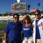 Family divided!!!! LETS GO #Dodgers!!!! #la #Dodgers #baseball #fans #Mets #dodgersstadium http://t.co/viujf23LrY