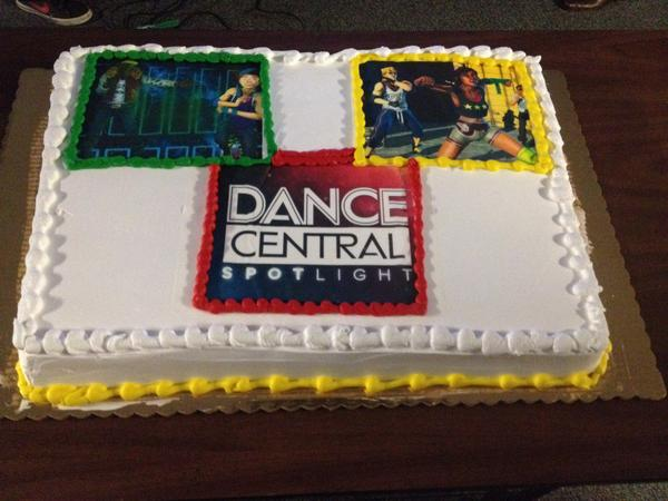 Our studio is celebrating finishing @Dance_Central Spotlight with delicious cake! http://t.co/jf3QTVuflK