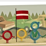RT @RKacinskas: Google Doodle marks the 25 the anniversary of the #BalticWay | #Lithuania #Latvia #Estonia #BalticWay25 Thanks! http://t.co/PmAI54B72P