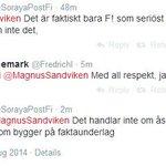 """""""Fi är bästa antirasisterna, det är fakta""""?? Men asså lägg ner. http://t.co/P9oxfK2KBv"""
