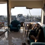 Gaza. Their house was shelled by Israel on 16 August. Roberto Schmidt/AFP/Getty Images http://t.co/IUOE7gVIBI