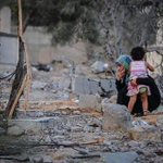 This is Gaza to much pain in one picture... #PrayForGaza #GazaUnderAttack http://t.co/3vyTXhFXuD