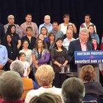 Wow, look at Harper energize that crowd! Oh.. wait... http://t.co/qlN6x7IQNP #cdnpoli #bullshit #talkingpoints