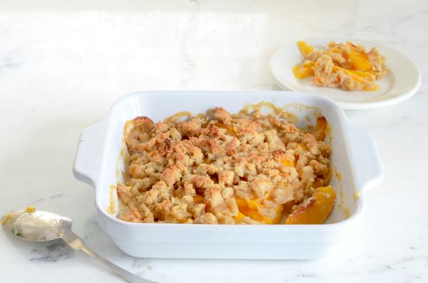 New Post! Paleo Peach Crisp. Only 6 Ingredients!  http://t.co/2FQSp1de5f http://t.co/cN1fV49Y7N