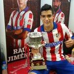 RT @Raul_Jimenez9: Muy contento de haber debutado en el Estadio Vicente Calderon con toda la gente siempre apoyando @Atleti http://t.co/wnwCS4Ncoc