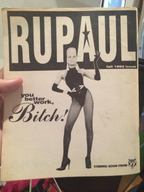@RuPaul said it first✨ #wigstock'92 http://t.co/3gntK9gRFi