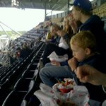 Ready for a great game @Wpg_BlueBombers!! They wouldnt take a nice photo but this is the other 7 in #mycrew http://t.co/Ep5VRxph1c