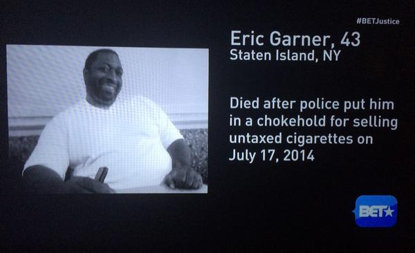 ... And unfortunately, Mike Brown was not the only victim of Police violence this summer. #BETJustice (NY, CA, OH) http://t.co/iy5g9tNdPX