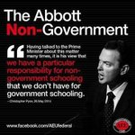 These jerks and their attitude towards government schools is full of fail #auspol http://t.co/9HzjxGzEQo