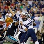RT @nfl: HALFTIME: @Panthers 0, @Patriots 13 #CARvsNE http://t.co/QL6FfWxiW2