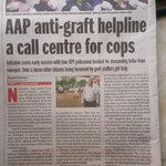 RT @mayankgandhi04: While honest officers are transfered! AAP mumbai anti-corruption helpline no. Helped in catching of corrupt officers! http://t.co/hRJBz5zYyB