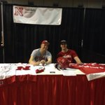 RT @UNLSportClubs: @HuskerHockey recruiting at Huskers Mania! #activehusker http://t.co/dJncsQ37q8