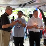 RT @DevPeace: Archbishop Miller of #Vancouver & Bishop Plouffe of Sault Ste. Marie blessing homes built by @DevPeace #Philippines http://t.co/9atQgJJGYM