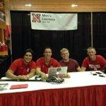 RT @UNLSportClubs: @Nebraska_Lax recruiting at Husker Mania! #activehusker http://t.co/3wg8QQrwax