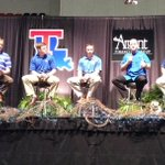 Very proud of this lineup of @LATech leaders. @tmcclelland @tylersummitt @MikeWhiteLATech @LATechSHoltz @LATechGGoff http://t.co/tJr8X7Nwj2