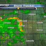 Heavy rain to the west of #LNK. Its going to stay west of #LNK, too. Still a chance of development in SE Nebraska. http://t.co/9Gc1rGj57k