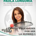 RT @ClubSantos: El @TSMExperiencia recibe a la mejor raquetbolista del mundo: @PaoLongoria, un orgullo guerrero #GuerreroNoCualquiera http://t.co/1ZmVmDvZRv