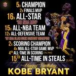 RT @LakersNation: Happy Birthday, @kobebryant! http://t.co/BVGMqOTWfd