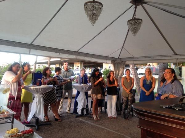 Marlene Rice sharing about BackPack Buddies testimonials #mauifoodbank14 #feedkeikis @MerrimansHawaii @OceanVodka http://t.co/1XmwNDQ5G9