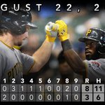 RT @Pirates: RECAP: @jhay_da_man homers and drives in 5 runs as #Pirates inch closer to #WildCard spot: http://t.co/hdGc04IkJI http://t.co/exqeVh45HO