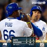 RT @SportsNetLA: #Dodgers win in dominating fashion and will go for win number two of the series tomorrow night at 6:10PM. http://t.co/4XQV0q0iLV
