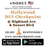 RT @MrCheckpoint: NOW #LosAngeles DUI Checkpoint #Hollywood Highland Ave & Sunset Blvd #NODUI #LA #fe... http://t.co/ZSZY72xUI2 http://t.co/bK5NMp7zkV