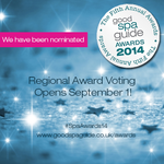 We are nominated and need your VOTE #Brighton #Sussex #SpaAwards14 @GoodSpaGuide http://t.co/BdUawlqHfi