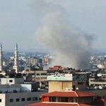 This is Gaza city last hour.. The bombing never stops on #Gaza... #GazaUnderAttack #PrayForGaza http://t.co/l6v1PHmgiw