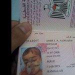 """صورة الطفل #أمير_الرقب حيث تم إستخراج له زواج سفر للعلاج بالخارج وتم التقاط له الصورة وهو في المستشفي #غزة_تحت_القصف http://t.co/pcE5NF3Nh7"""""""