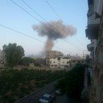 أصبحنا وأصبح الملك لله هاد صباحنا #غزة_تحت_القصف http://t.co/uGbpJNRMTB