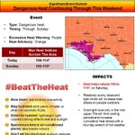 RT @NWSTallahassee: Another day of dangerously hot temperatures across the region with heat indices of 108 to 114 degrees. #heatwave http://t.co/8UkdFQjjBb