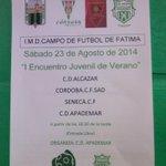 RT @CDApademar: Llegó el día del fútbol en Apademar! Esta tarde, apartir de las 18:30, Torneo Juvenil de Verano C.D. Apademar! http://t.co/vGcEbl0yb5