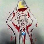 RT @Farah_Gazan: Innocent Gazans blood bucket challenge #IceBucketChallenge @netanyahu #GazaUnderAttack http://t.co/yMmhsCMuZO