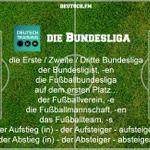 Wortschatz Fußball & Bundesliga. Wie heißt die Erste Bundesliga eigentlich in deinem Heimatland? #learngerman http://t.co/W5rsnm6zCA