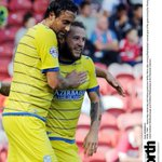 RT @northnews: .@swfc goalscorers Atdhe Nuhiu and Stevie May celebrate as Boro go 2-0 down - pic by @RaoulDixonNNP @wednesdayite http://t.co/H3bwSKCCZ4