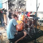 RT @CleftBand: Setting up for sessioning with @SmallPondRec in Brighton today. http://t.co/DIUqxRRRA6