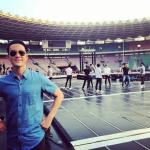 [PIC] 140823 vjdaniel Instagram Update with SJM in behind. rehearsal~ (cr: SJnELFamily) http://t.co/yuHBKrWniG
