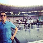140823 vjdaniel IG Update - with SJM during the rehearsal!!!! http://t.co/YvTOhg3TXb