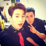 Henry instagram update: backtage with dong hae! indonesia!! http://t.co/SNo1N29g5v