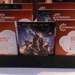 Free collectible Guardians of the Galaxy postcards di counter Tixx dan Snaxx di Cinemaxx Plaza Semanggi. Take them. http://t.co/nSUtksxz4W