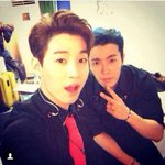 RT @SUPERJUNlOR: [PIC] 140823 Henry Instagram Update: backstage with dong hae! indonesia!! http://t.co/NafLQshkNC