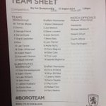 RT @domhowson: No Sam Hutchinson for #SWFC. http://t.co/KMYQRysz7c