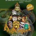 RT @JogjaToday: #Jogja Pagelaran Tari Topeng Panji se-Jawa Bali   26-27 Agst 2014 jam 19.30 di Concert Hall TBY   Gratis http://t.co/FQXHbCN0Wg