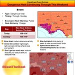 RT @NWSTallahassee: Dangerous heat again this afternoon. Heres the latest: http://t.co/OzmNcCJWr0 #BeatTheHeat http://t.co/6L23XjcXLc