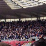 RT @awaydays_: Sheffield Wednesday fans at Middlesbrough today. #SWFC http://t.co/7yQKlv1jGf