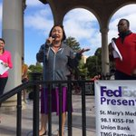 #Oakland Mayor Jean Quan speaks at start of #FriendsofFaith breast cancer walk http://t.co/tiHuqEOVtc