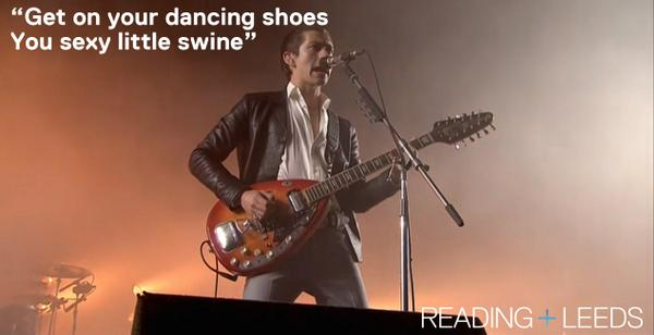 The @ArcticMonkeys are on stage @OfficialRandL NOW. Watch it live here -> http://t.co/rflpzDhBvF http://t.co/3UkwdTnGSq
